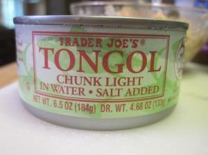 Trader Joe's Tongol Chunk Light Tuna: Sorry Charlie