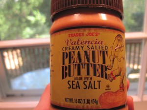 Trader Joe's Valencia Creamy Salted Peanut Butter with Sea Salt