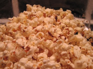 Brown Sugar Bits Bacon Popcorn!