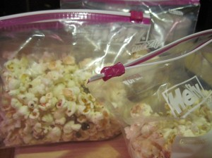 Bacon Popcorn, Two Ways, Bagged for Mobile Deployment