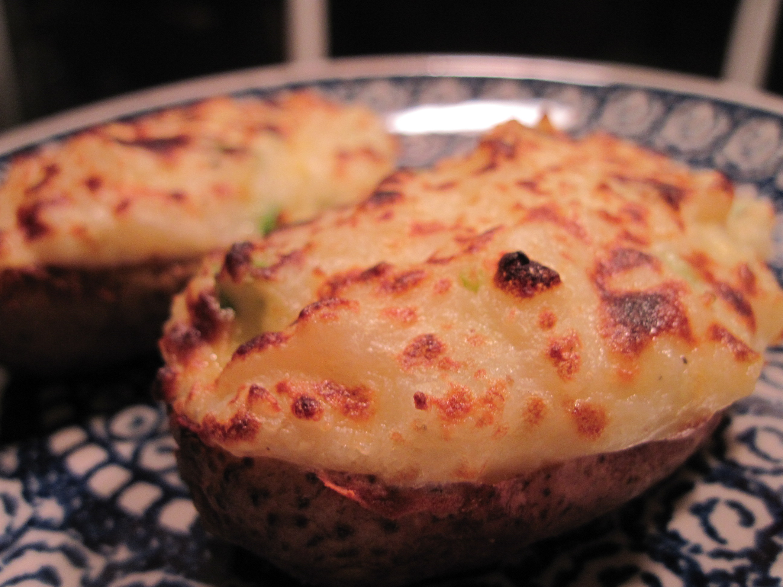 Twice baked potatoes recipe make ahead eat aplenty the for Different ways to cook russet potatoes