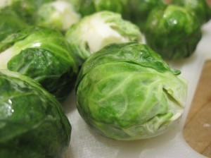 Stand up and face the enemy: Brussels sprouts
