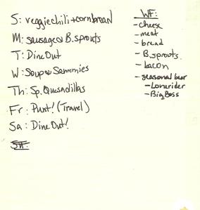 Weekly Menus: 11/13/2011