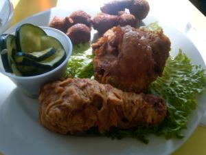 Fried Chicken at The Pig in Chapel Hill, NC