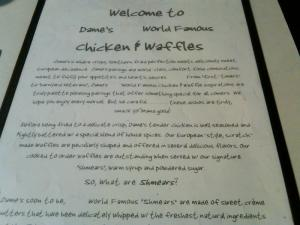 The story of Dame's Chicken & Waffles