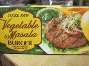Trader Joe's Vegetable Masala Burger