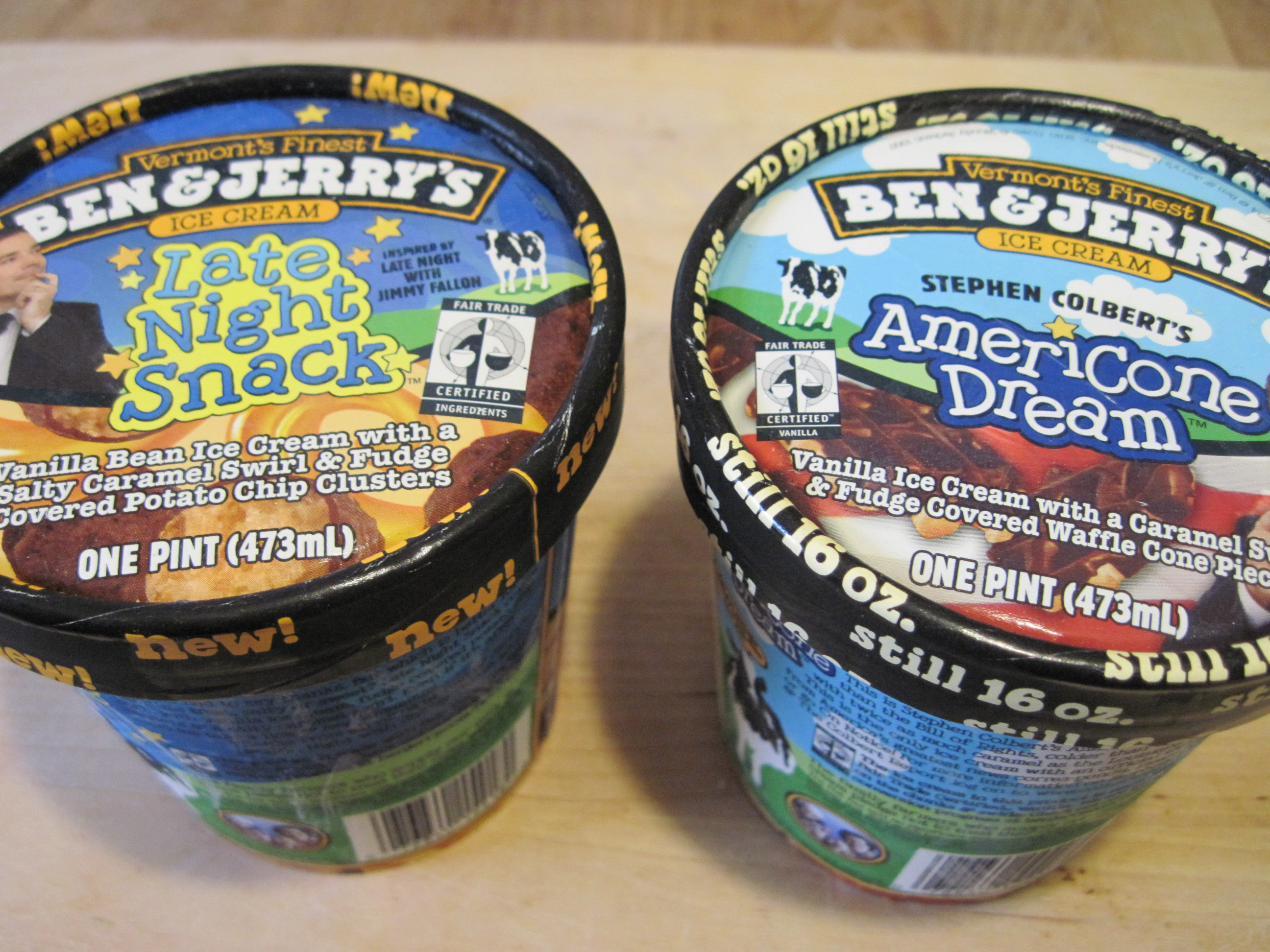 Tasting Tuesday Ben And Jerry S Late Night Snack Vs Americone Dream With Video The Practical Cook The american dream is the belief that anyone, regardless of where they were born or what class they were born into, can attain their own version of success in a society where upward mobility is possible. late night snack vs americone dream