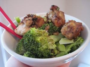 Chicken Bowl Rocks as Leftovers!