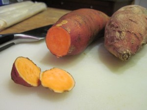 Hello beautiful sweet potatoes.