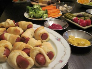 Pigs in a Blanket, for the Win!