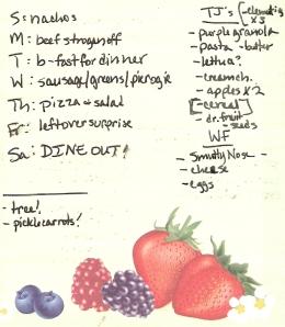 Weekly Menus: 12/4/2011