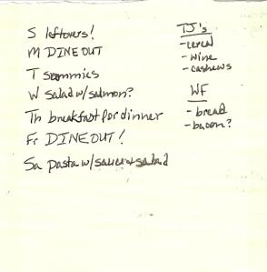 Weekly Menus: 12/25/2011