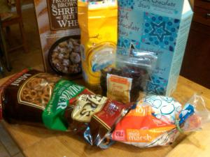 Holiday Trail Mix Ingredients!
