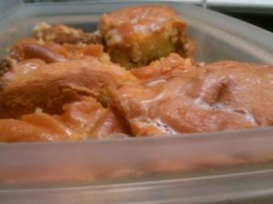 The Practical Cook's Mom's Honeybun Cake