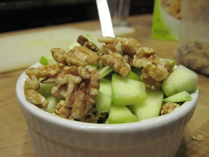 Apple Walnut Parfait!