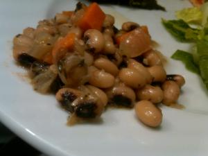 Vegetarian Down-Home Black-Eyed Peas: Delicious!