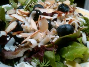 Blueberry Herb Salad: This picture just makes me want to eat it again.