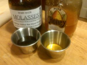 Honey vs. Molasses