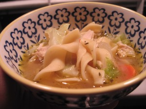 The Practical Cook's Mom's Homemade Chicken Soup