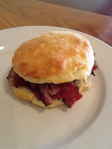Move over Country Ham, make room for Pastrami Biscuit (Neal's Deli, Carrboro, NC)