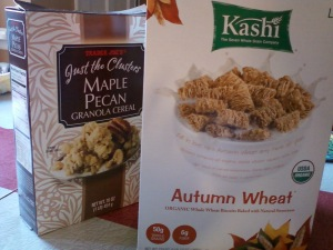All Clusters (aka, cereal candy) plus Autumn Wheat (aka, hay bales)
