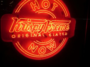 The Hot Now Sign, a Siren Song for Me