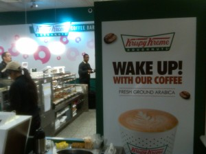 Krispy Kreme in Heathrow