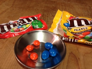 Which M&M won my heart? (Hint: Crunchy is better.)