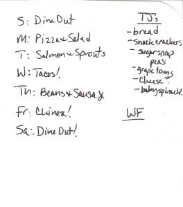 Weekly Menus: 2/19/2012
