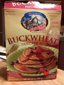 Hodgson Mill Buckwheat Pancake Mix for the win!