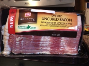Oscar Mayer Uncured Bacon: 2nd Place in the Grocery Store Round!