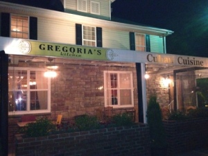 Extra points for any restaurant located in an old house: Gregoria's Kitchen