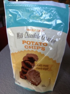 Milk Chocolate Covered Potato Chips from Trader Joe's