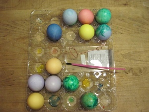 Easter Eggs: Glittery Edition