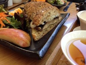 Portobella Sandwich from Samovar