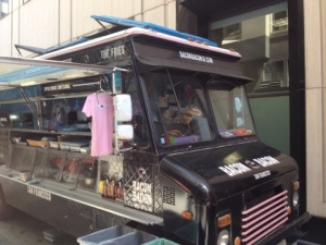 The Bacon Bacon Food Truck in San Francisco! Hunt it down today!