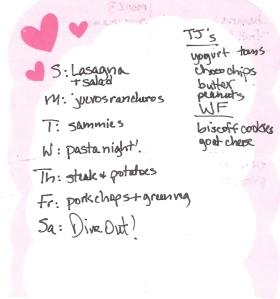 Weekly Menus: 6/17/2012