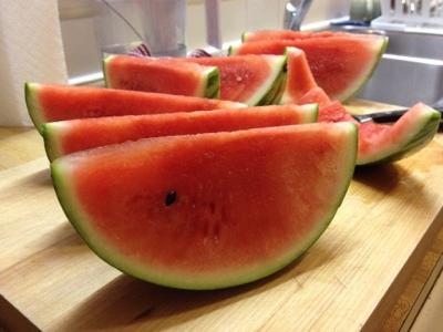 Summer happiness = watermelon