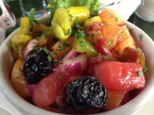 Tomato Watermelon Salad from Crook's Corner