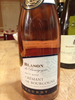 Blason Rose Cremant from Trader Joe's
