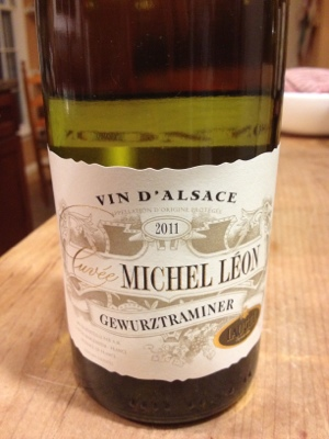 Michel Leon Gewurztraminer from Trader Joe's