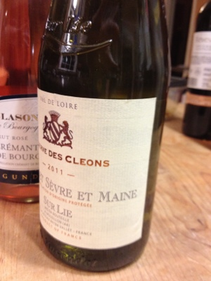 Reserve des Cleaons Muscadet from Trader Joe's