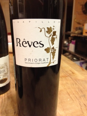Reves Priorat from Trader Joe's