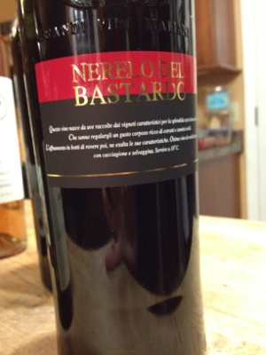 Nerelo del Bastardo from Trader Joe's