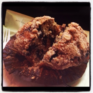 The Most Delicious Blueberry Muffin Ever from Bouchon