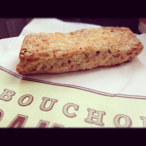 Savory Scone from Bouchon