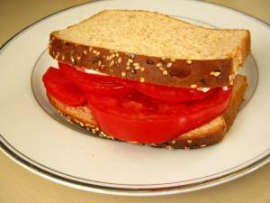 Nom nom. --$4 Tomato a Love Story