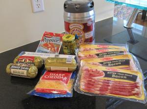 Bacon What? Log Shopping List