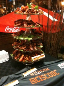 Behold the Tower of Bacon!