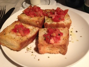 Tomato bread from Barcelona.